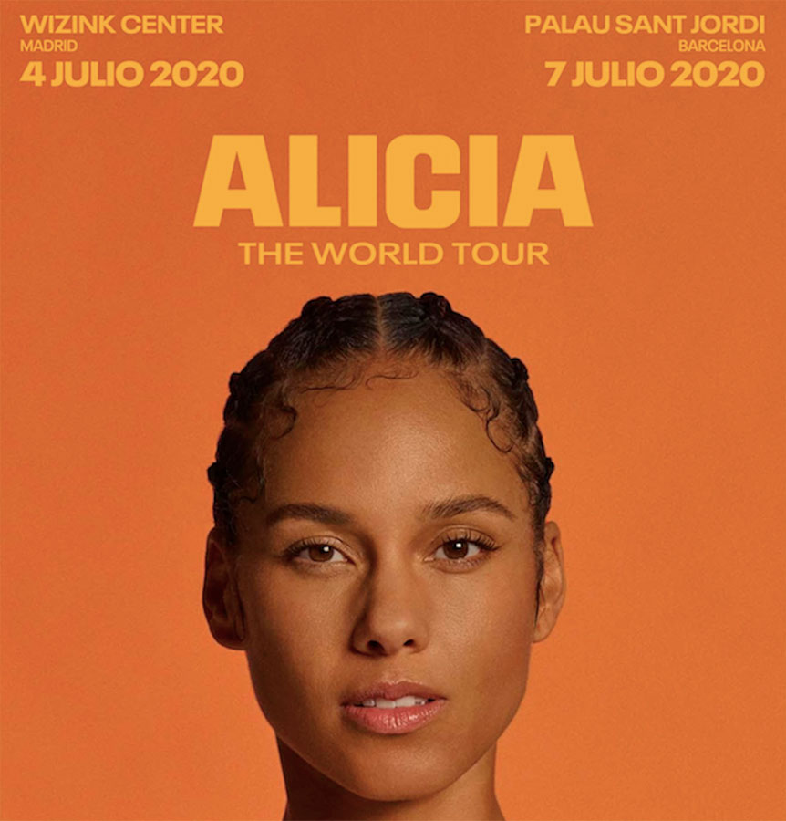 Alicia Keys in Concert by Gratis in Barcelona