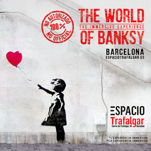 The World of Bansky by Gratis in Barcelona