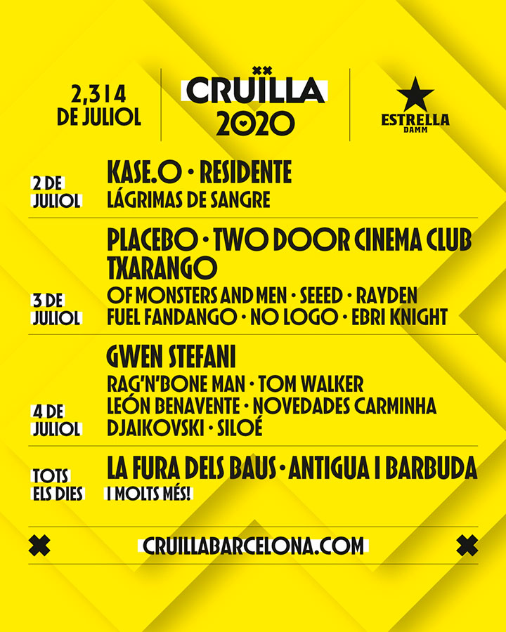 Cruilla Festival by Gratis in Barcelona