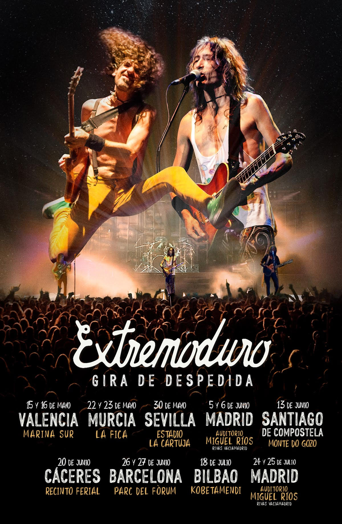 Extremoduro in Concert by Gratis in Barcelona