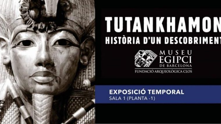 Exhibition: Tutankhamun. Discovery story by Gratis in Barcelona