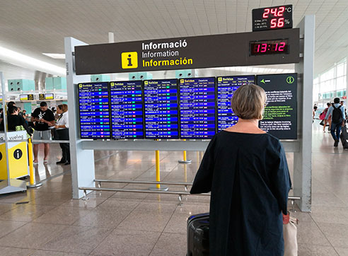 Airport and Airlines by Gratis in Barcelona