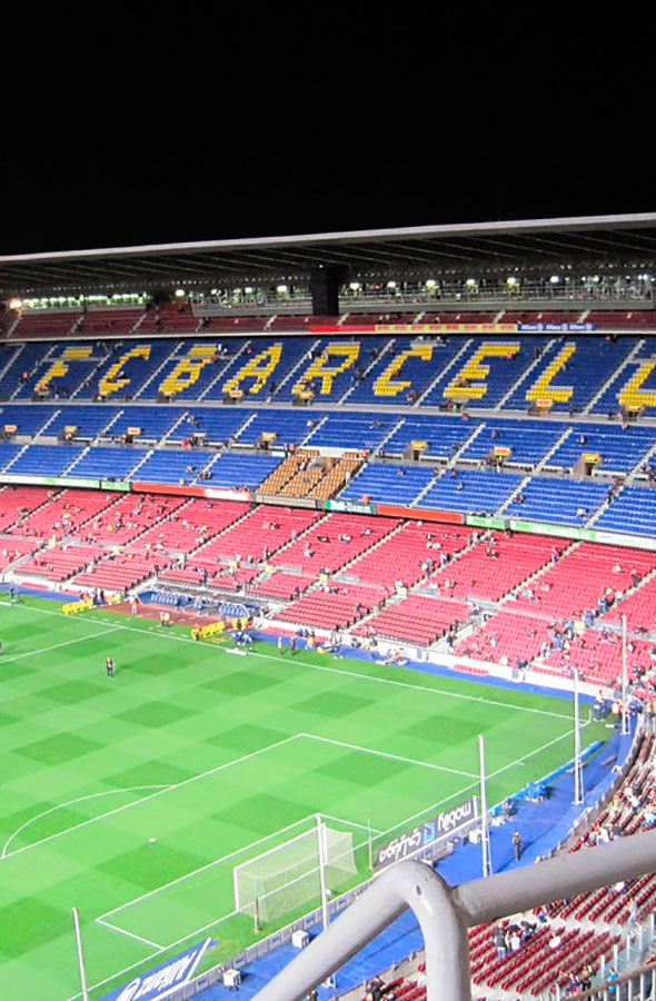 Camp Nou by Gratis in Barcelona