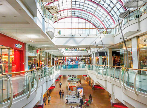 Shopping malls by Gratis in Barcelona