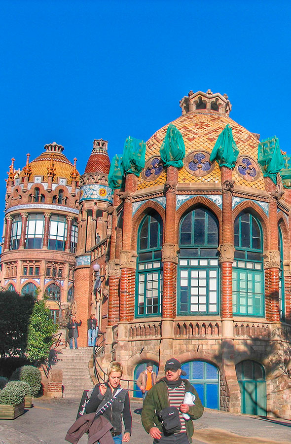 Hospital Sant Pau by Gratis in Barcelona