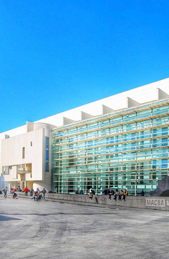 Barcelona Art Contemporany Museum by Gratis in Barcelona